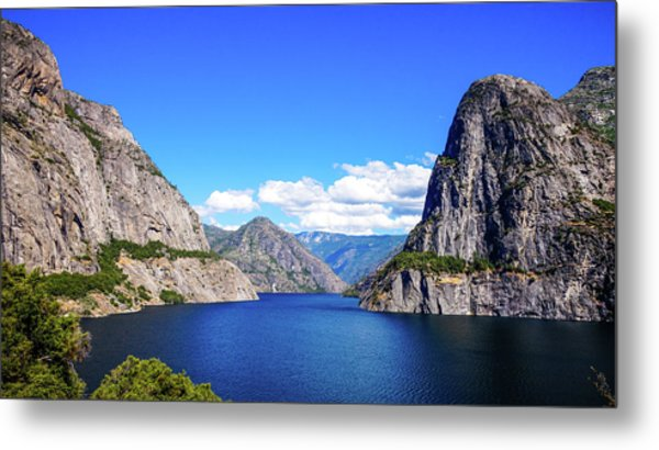 Hetch Hetchy Reservoir Yosemite Metal Print
