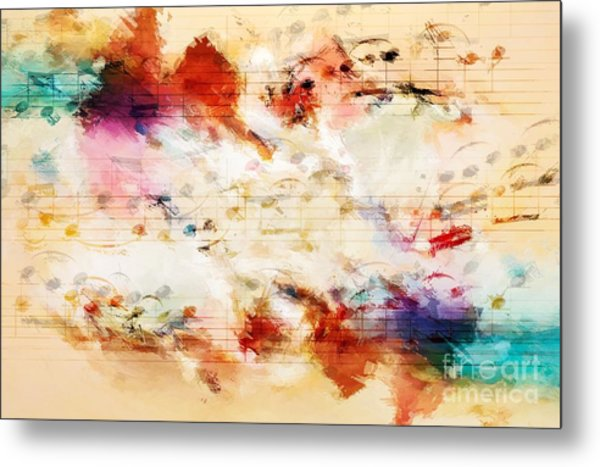 Heterophony And Inverted Harmony Metal Print