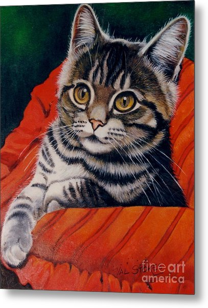Hi There Metal Print by Val Stokes