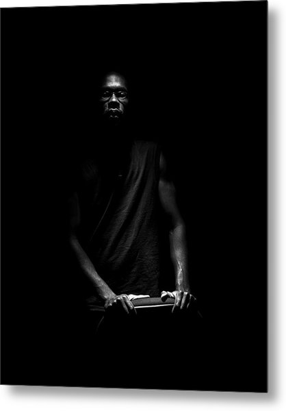 Metal Print featuring the photograph Hidden by Eric Christopher Jackson