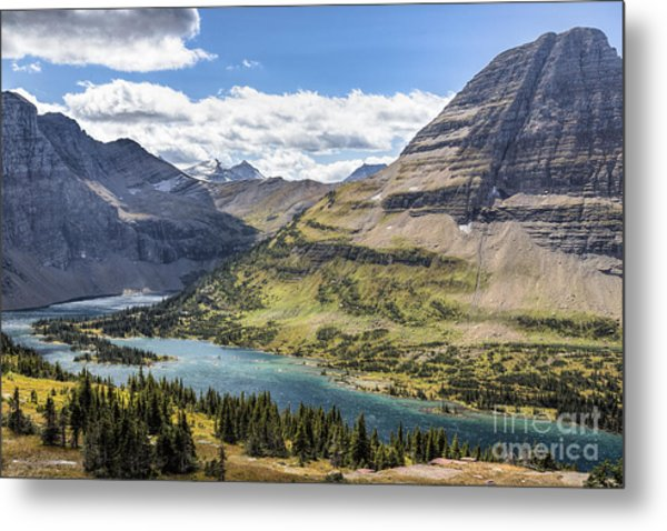 Metal Print featuring the photograph Hidden Lake Overlook by Jemmy Archer