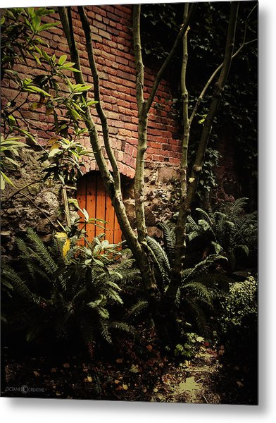 Hidden Passage Metal Print