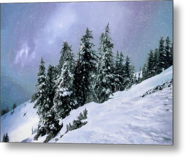 Hidden Peak Metal Print