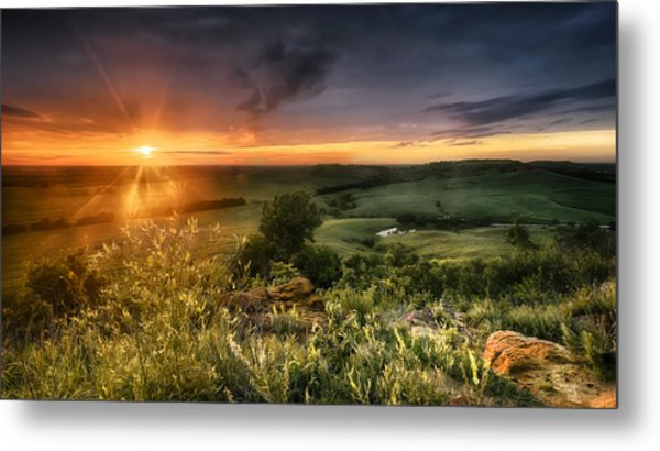 Hidden Valley Metal Print