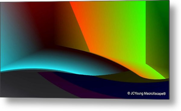 Hideout Metal Print by JCYoung MacroXscape