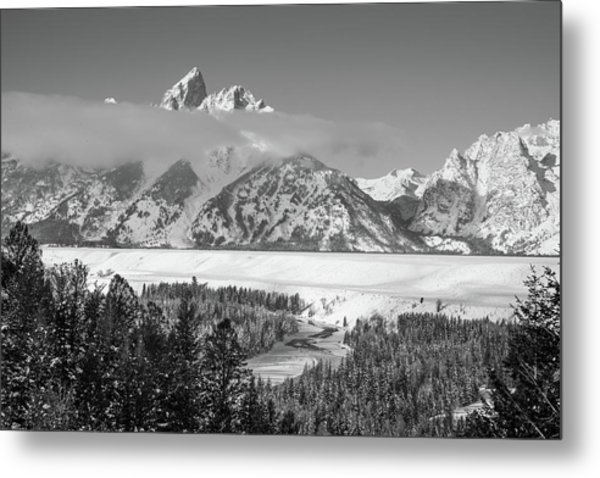 High Band Metal Print