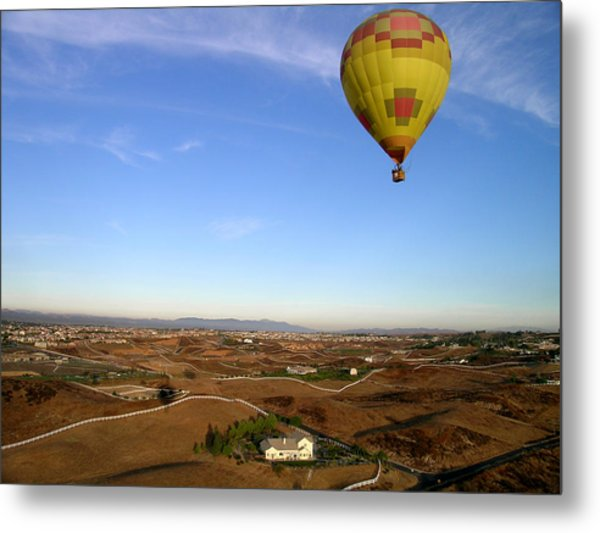 High In California Metal Print by Jim DeLillo