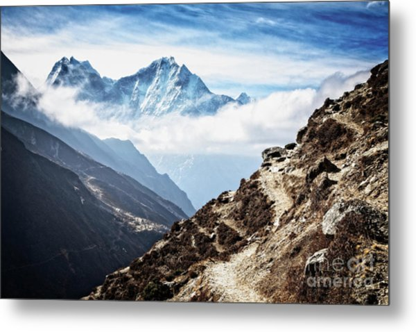 High In The Himalayas Metal Print