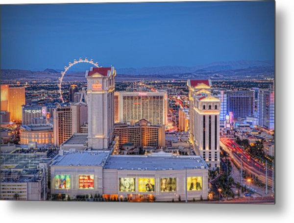 High Roller - Night Metal Print
