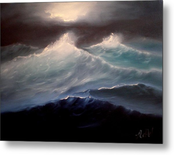 High Seas Metal Print