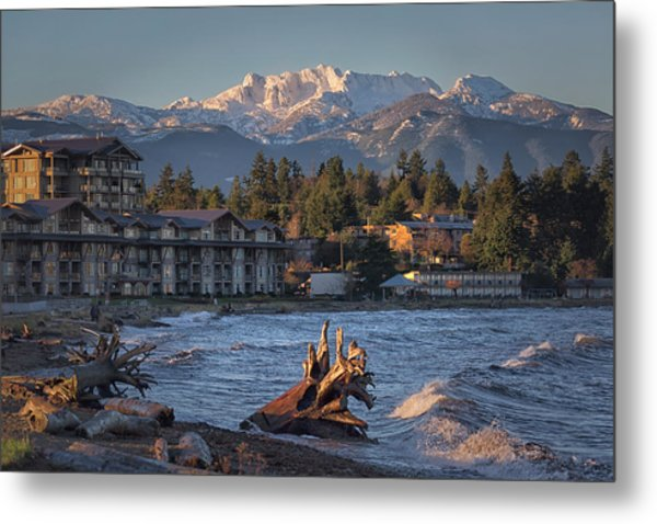 High Tide In The Bay Metal Print