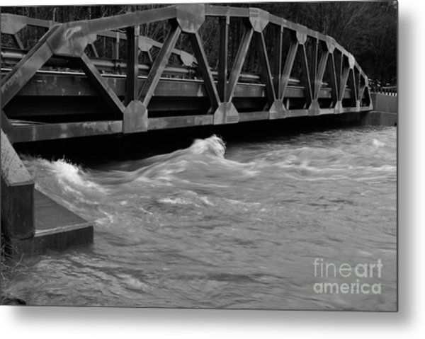 High Water Metal Print