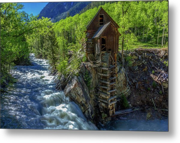 High Waters At The Mill  Metal Print