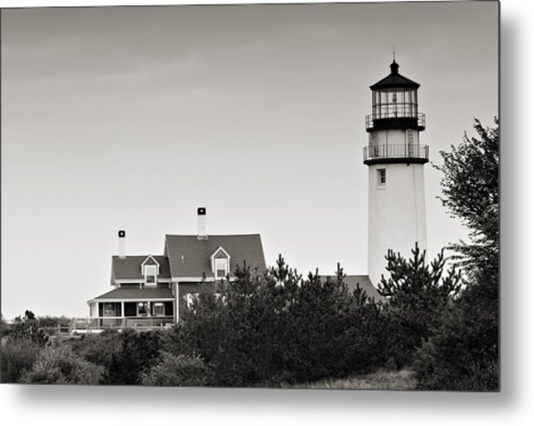 Highland Light At Cape Cod Metal Print