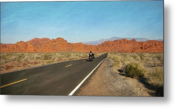 Highway Journey Metal Print by JAMART Photography