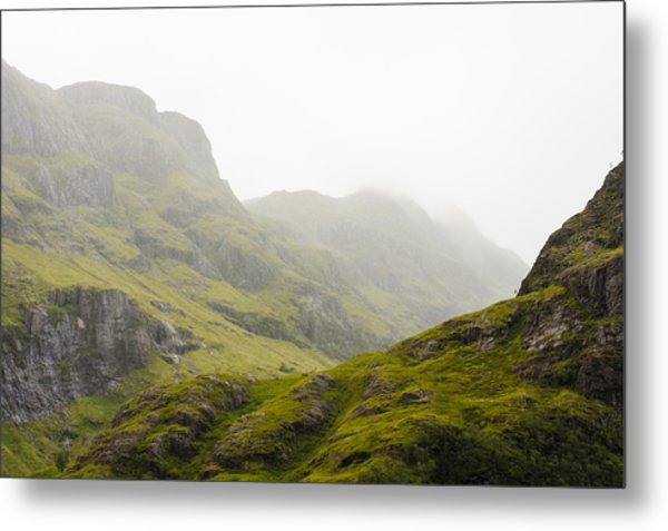 Metal Print featuring the photograph Hill And Glen by Christi Kraft
