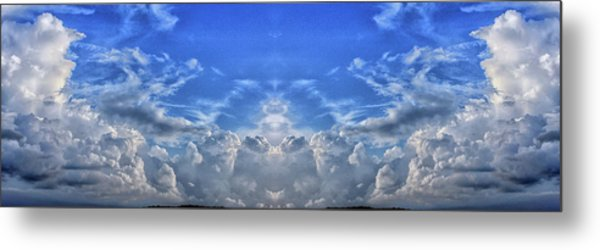 Hill Country View Metal Print