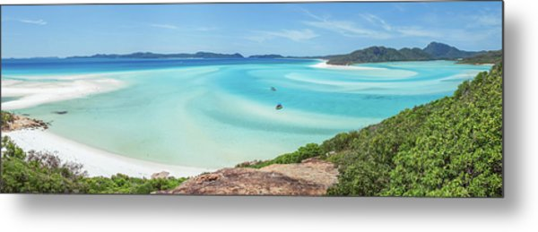 Hill Inlet Lookout Metal Print