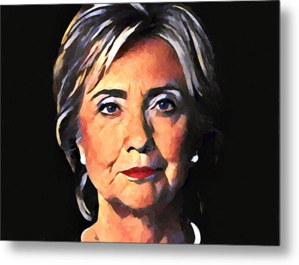 Hillary Clinton Metal Print