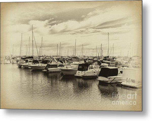 Hillarys Boat Harbour, Western Australia Metal Print