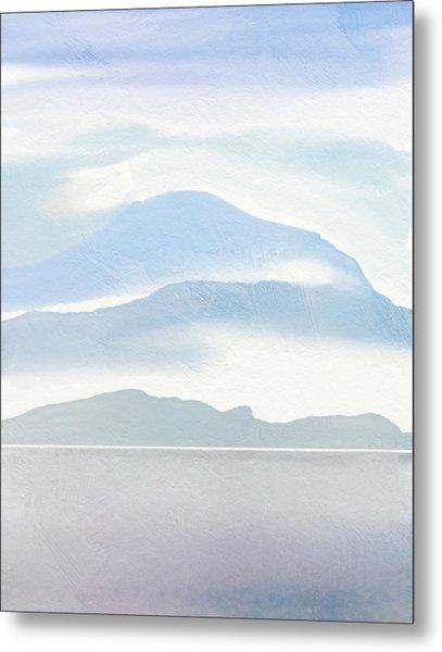 Hills In Borneo Metal Print