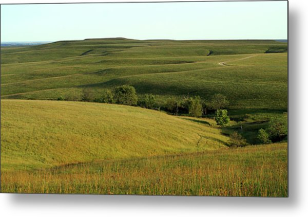 Hills Of Kansas Metal Print