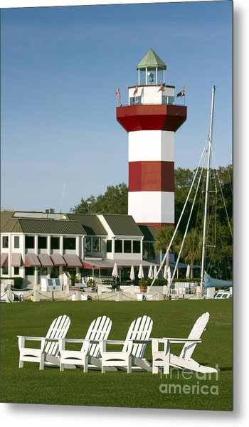Hilton Head Island Lighthouse Metal Print