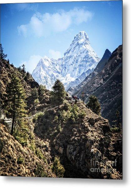 Himalaya Trail Metal Print
