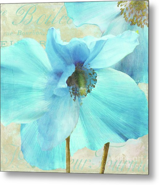Himalayan Blue Poppy Metal Print