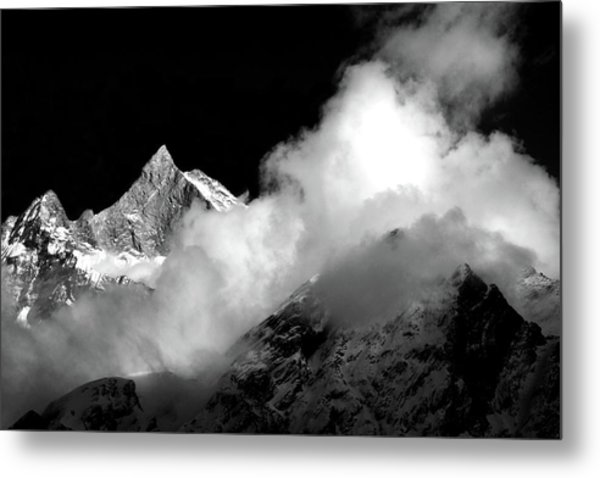 Himalayan Mountain Peak Metal Print