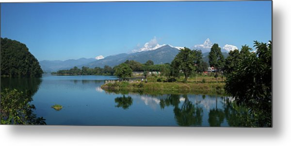 Himalayan Panorama Metal Print