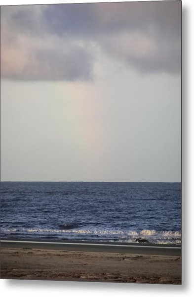 Hint Of A Rainbow Metal Print
