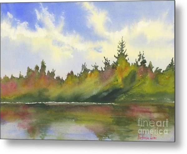 Hint Of Fall Metal Print