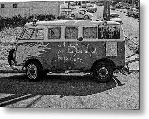 Hippie Van, San Francisco 1970's Metal Print