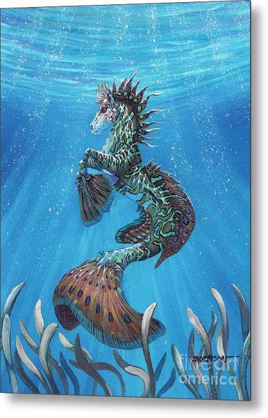 Hippocampus Metal Print
