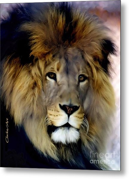 His Majesty The King Metal Print