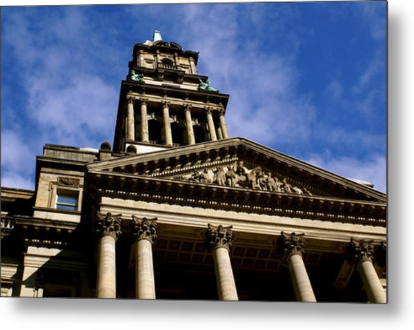 Historic Architecture Metal Print by Sonja Anderson
