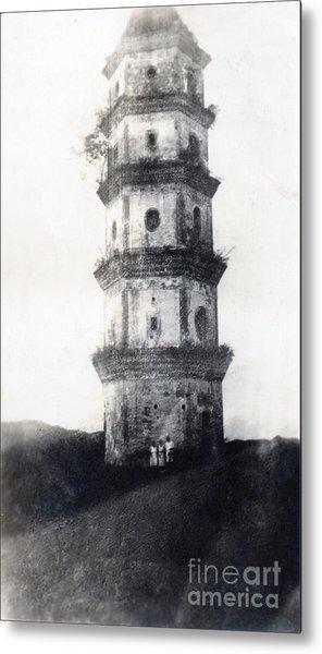 Historic Asian Tower Building Metal Print