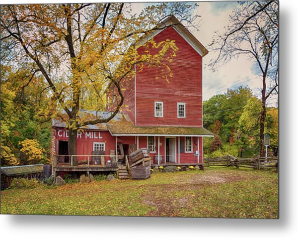 Metal Print featuring the photograph Historic Bowens Mills by Susan Rissi Tregoning