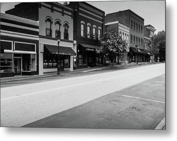 Metal Print featuring the photograph Historic Buford Downtown Area by Doug Camara