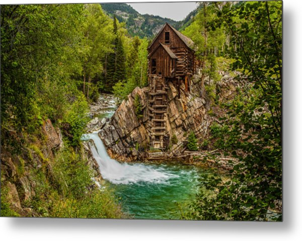 Historic Crystal River Mill  Metal Print