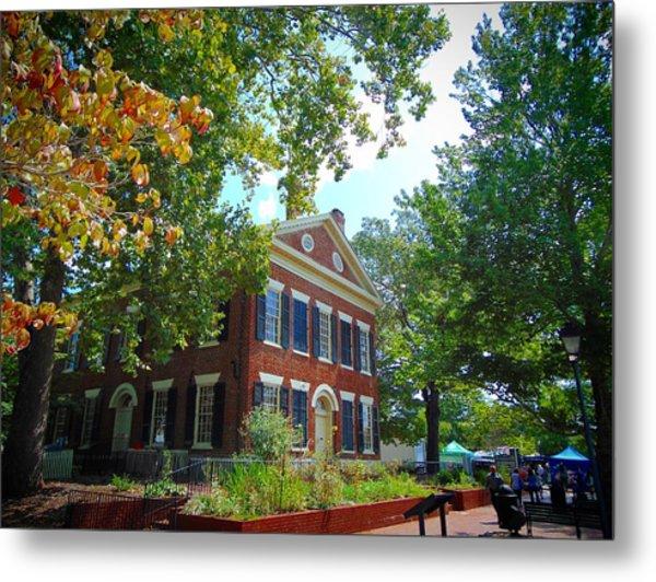Historic Dahlonega Georgia Courthouse Metal Print