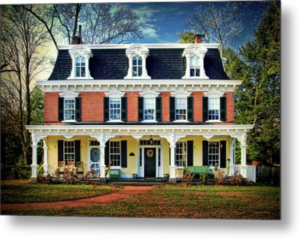 Historic Isaac Stover House  Metal Print