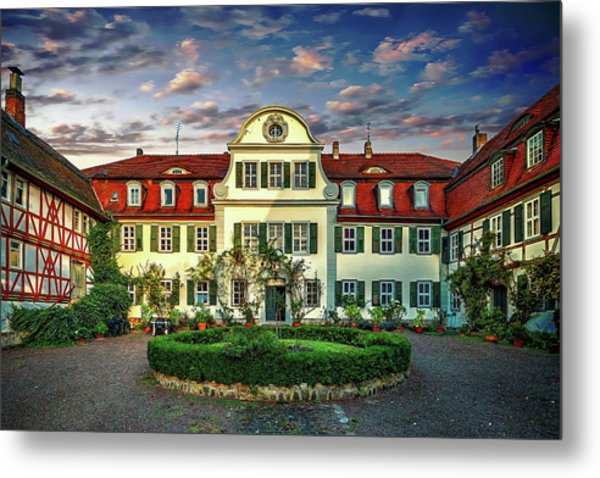 Historic Jestadt Castle Metal Print