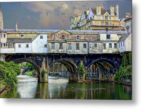 Historic Pulteney Bridge Metal Print