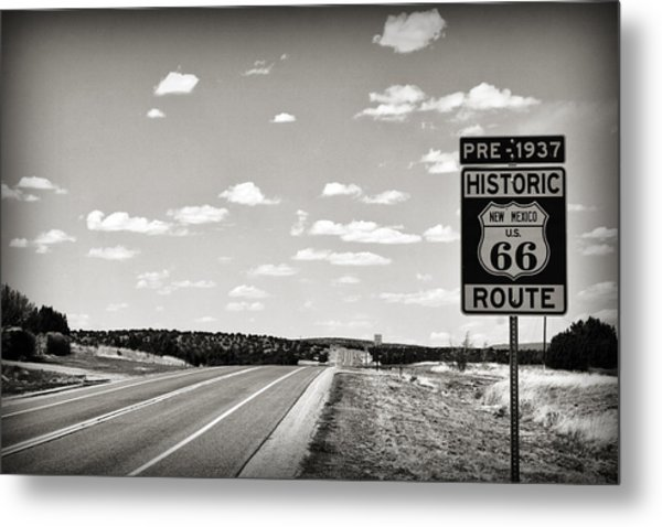 Historic Route 66 Metal Print