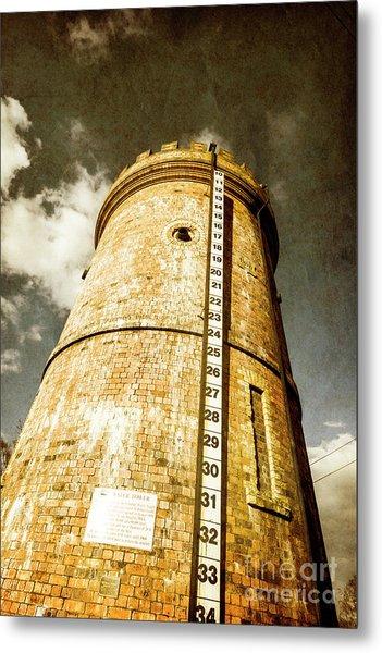 Historic Water Storage Structure Metal Print