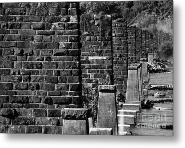 Historical Crossing Metal Print