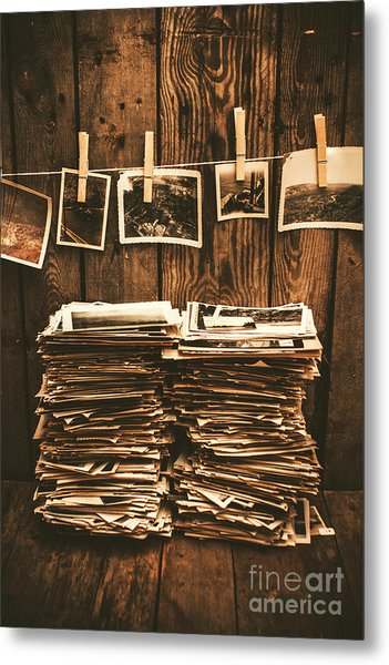 Historical Picture Archive Metal Print