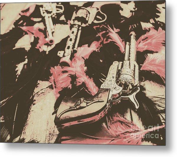 History In Western Rivalry Metal Print